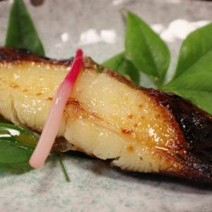 トロガレイの味噌焼き